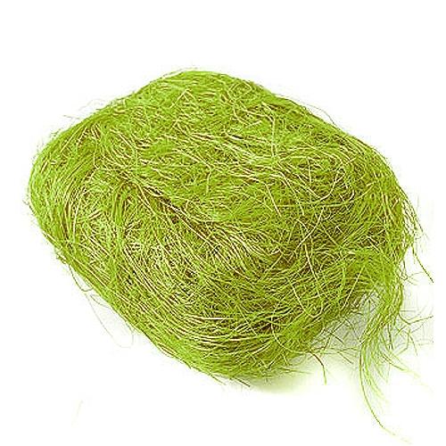 Сизаль сизалевое волокно салатовый