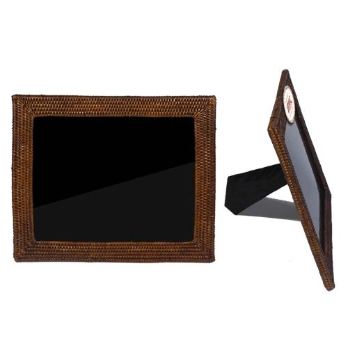 Фоторамка ротанг темно-коричневый