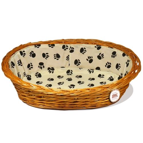 Лежанка для домашних животных №1 Ивовая лоза оранжевый