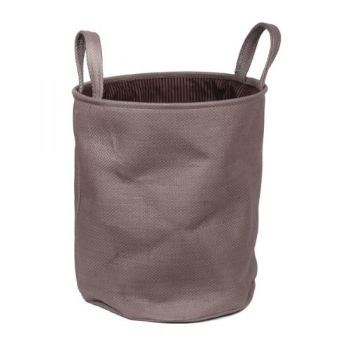 Короб для хранения № 3 текстиль кремовый