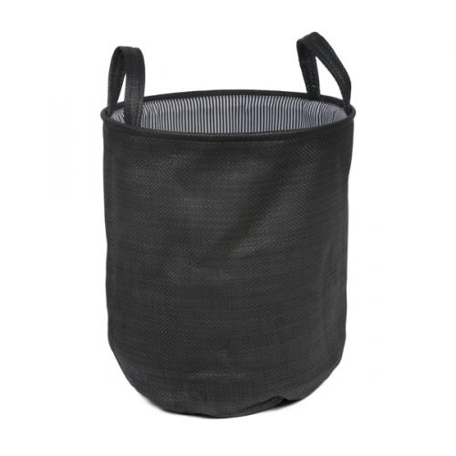 Короб для хранения № 2 текстиль черный
