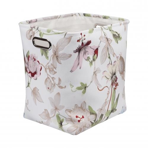 Текстильный короб для хранения №1 текстиль белый