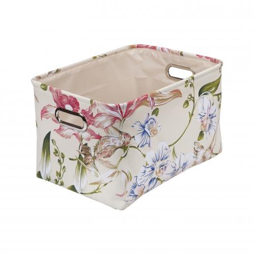 Текстильный короб для хранения №4 текстиль бежевый