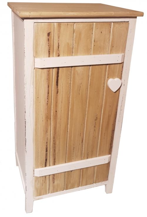 Шкафчик из дерева дерево белый прованс