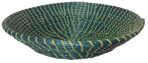 Блюдо плетеное ротанговая трава,искусственный ротанг зеленый