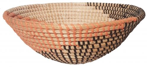 Блюдо плетеное №3 ротанговая трава,искусственный ротанг мультиколор