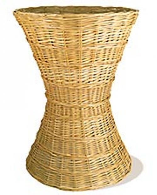 Корзина для выкладки лоза натуральный