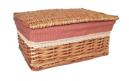 Короб плетеный №3 ивовая лоза натуральный