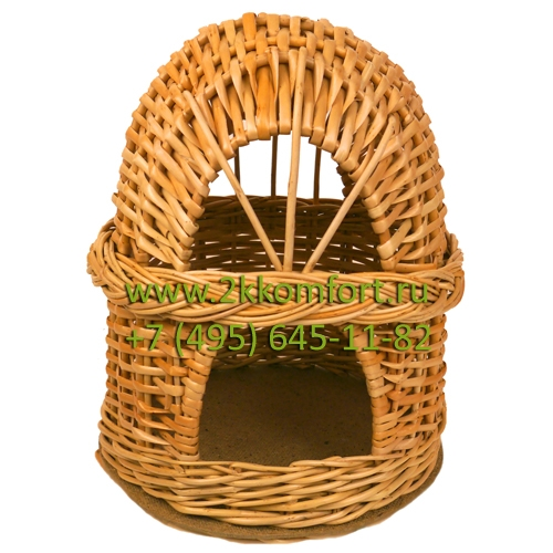Домик для грызуна Ивовая лоза коричневый