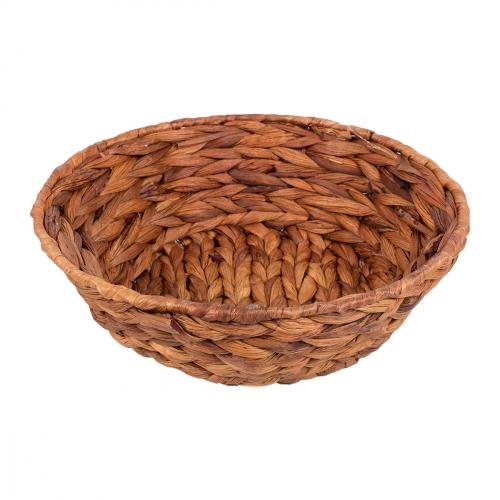 Миска плетеная №2 ротанг коричневый