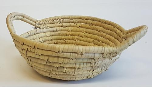 Корзина плетеная №2 пальмовый лист натуральный