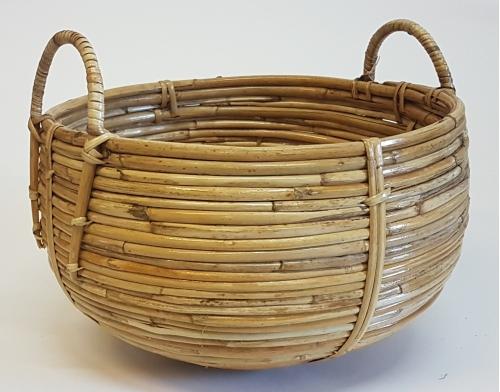 Корзина плетеная №3 Тростник натуральный