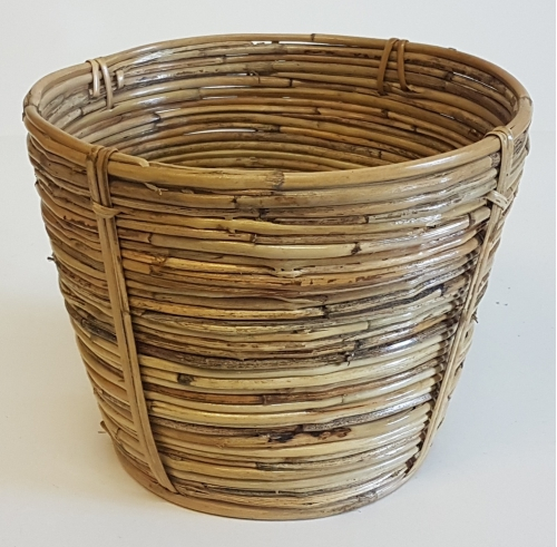 Корзина плетеная №4 Тростник натуральный