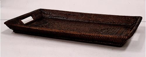 Поднос плетеный №1 ротанг коричневый