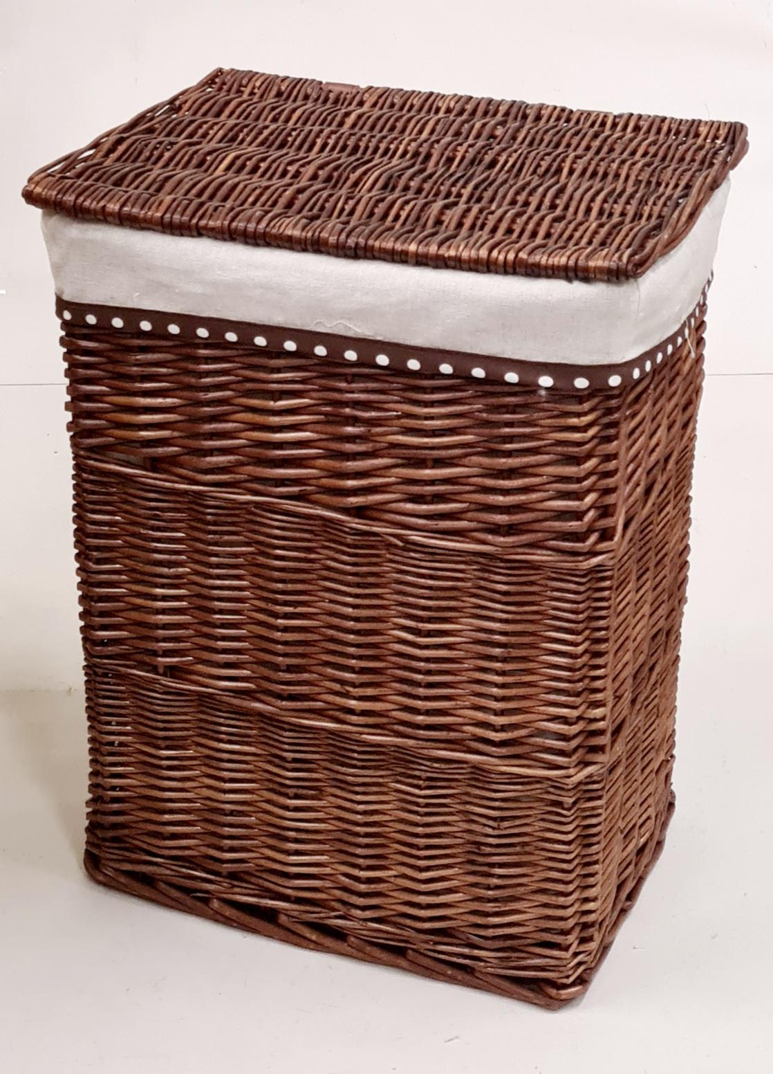 Корзина для белья №1 ивовая лоза коричневый