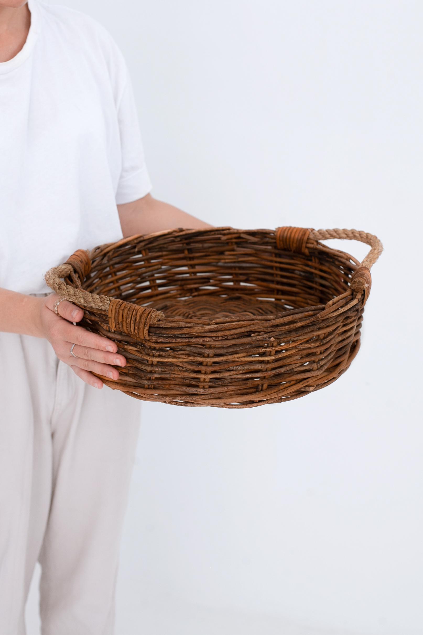 Корзина д/хранения №1 ротанг коричневый, натуральный