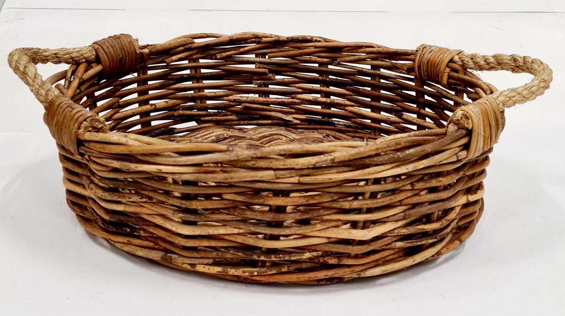 Корзина д/хранения №2 ротанг коричневый, натуральный