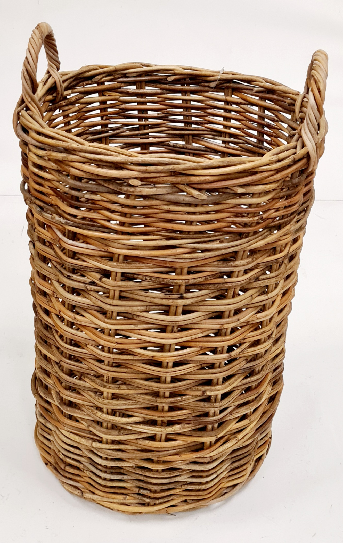 Корзина для зонтов ротанг коричневый, натуральный
