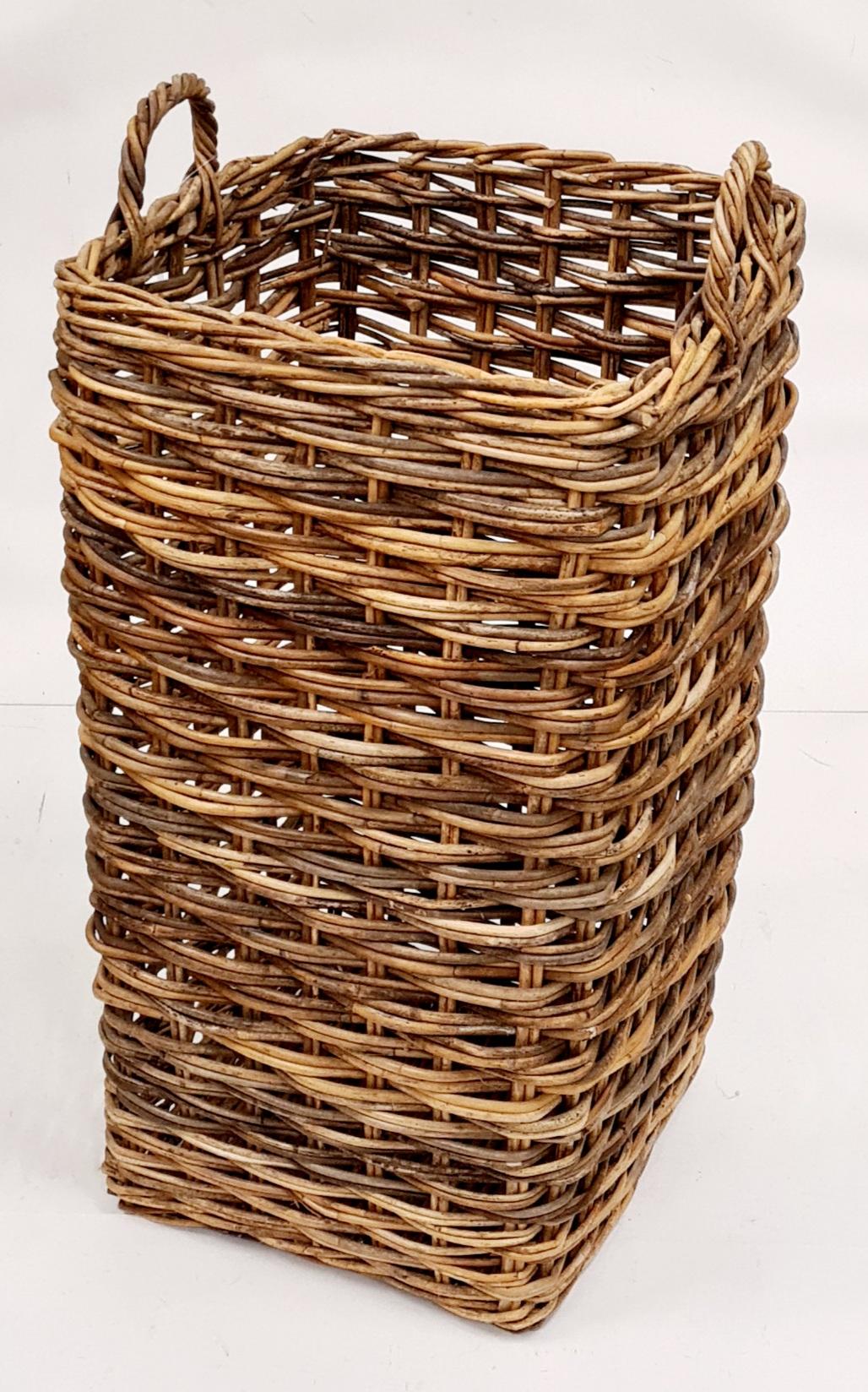 Корзина для зонтов №1 ротанг коричневый, натуральный