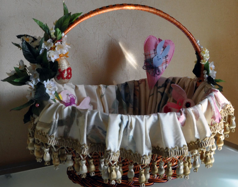 чувствуете композицию, фото как красиво украсить пасхальную корзину остался